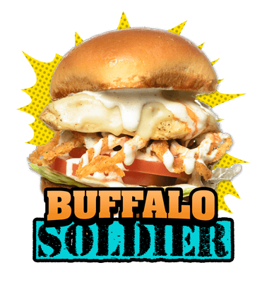 Buffalo-Soldier burger