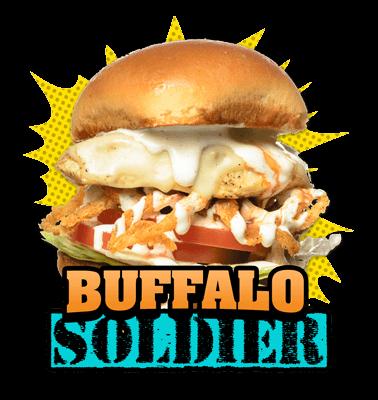Buffalo-Soldier burger