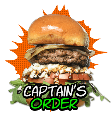 Captain's Order Burger