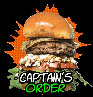 Captain's Order Burger