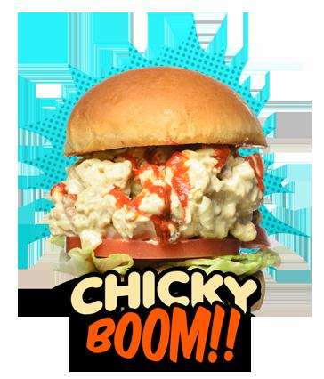 Chicky-Boom Burger