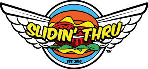 Slidin' Thru logo