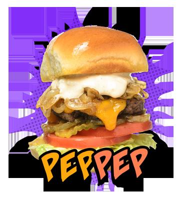 Pep-Pep Burger
